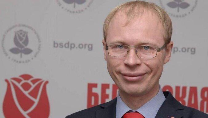 В Минске задержан лидер социал-демократов Игорь Борисов