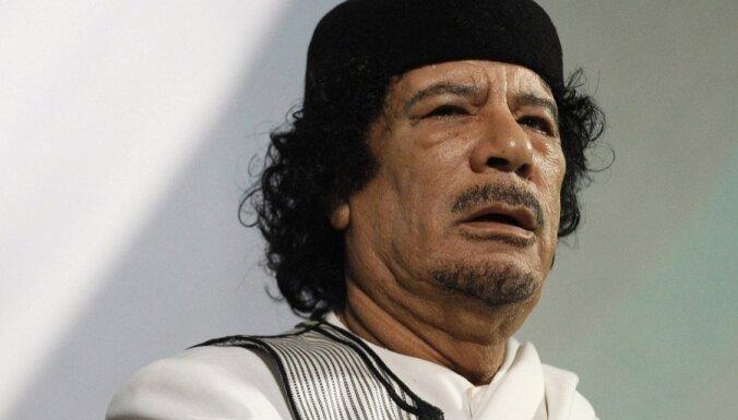 Feisbukā pandēmijas 'atmaskotāju' rindās ieskaita arī Kadafi