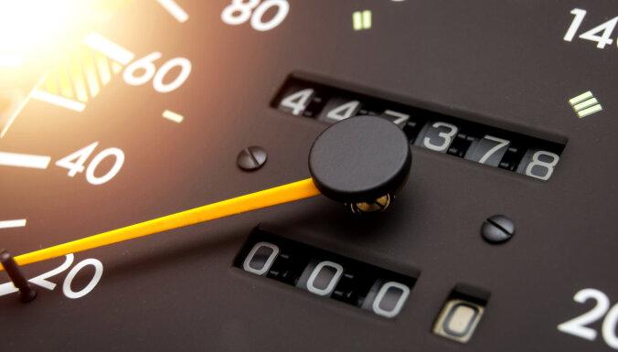 CSDD piedāvā iespēju uzzināt automobiļa nobraukuma vēsturi ārvalstīs