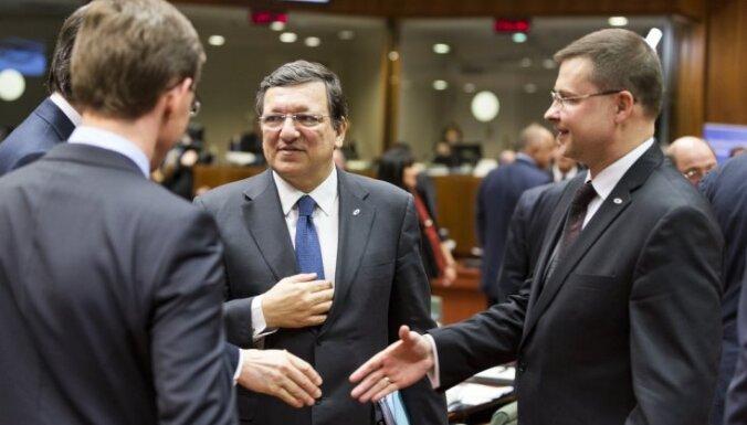 Домбровскис— по-прежнему один из возможных преемников Баррозу