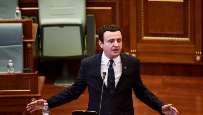 Jaunais Kosovas premjers Kurti sola būt stingrs sarunās ar Serbiju