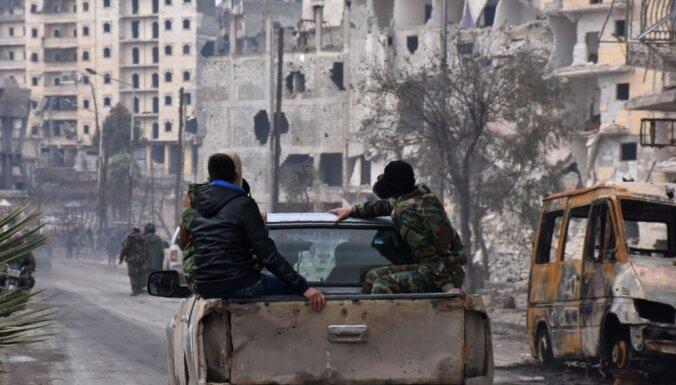 В Алеппо прибыл российский батальон военной полиции