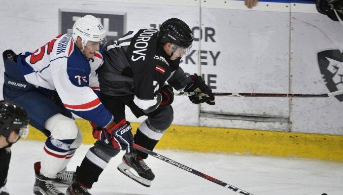 'Rīgas' hokejisti 'bullīšos' zaudē vienai no spēcīgākajām MHL komandām