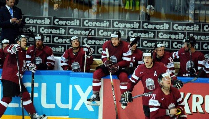 Билеты на хоккейный матч Латвия — Канада продаются по цене до 49 евро