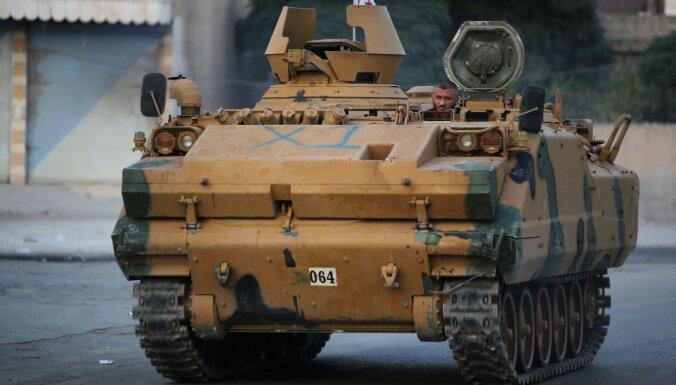 Krievija kritizē Turcijas iebrukumu Sīrijā