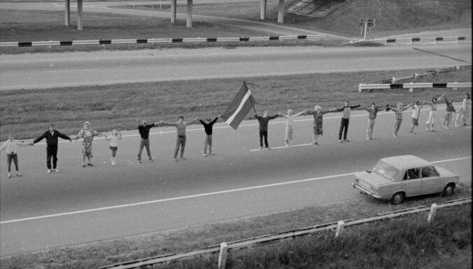 Likteņdārzā notiks Baltijas ceļa 30. gadadienai veltīts Mārtiņa Brauna pirmatskaņojums
