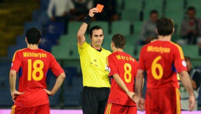 Сборная Латвии сыграет со сборной Армении