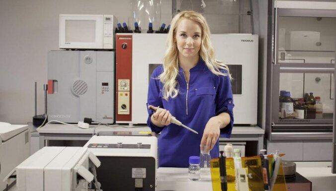 Gluži kā modele laboratorijā: jaunā latviešu zinātniece Ilze Dimanta