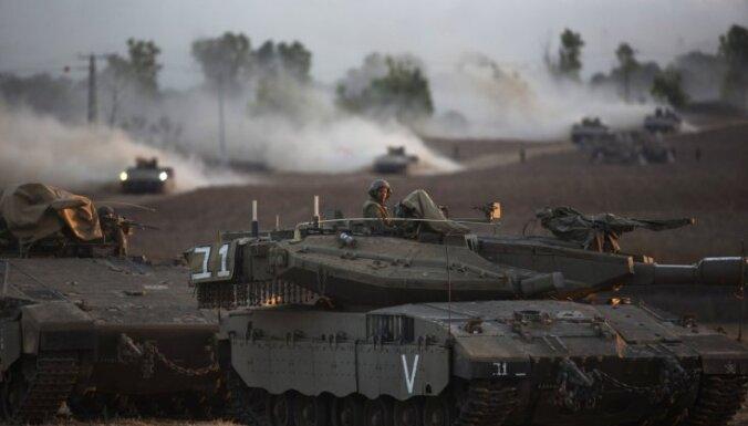 Izraēlas uzbrukuma 11 dienās Gazas joslā nogalināti 280 cilvēki