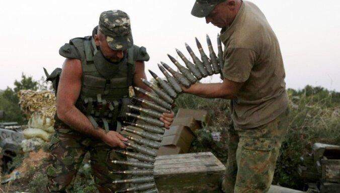 Ukraina: situācija Donbasā būtiski saasinājusies