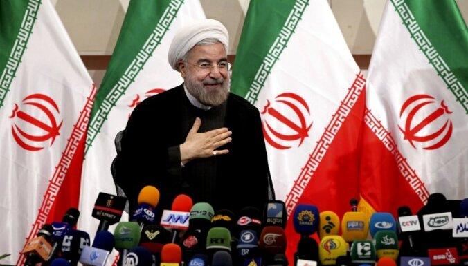 Ruhani oficiāli iecelts Irānas prezidenta amatā