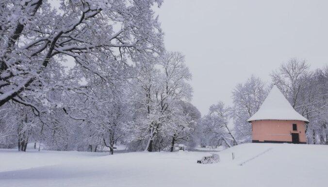 Foto: Kā ziema izrotājusi Latviju