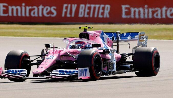 F-1 vienībai 'Racing Point' atņemti punkti par 'Mercedes' detaļu izmantošanu