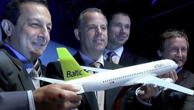 airBaltic увеличивает свой заказ до 20 самолетов Bombardier CS300