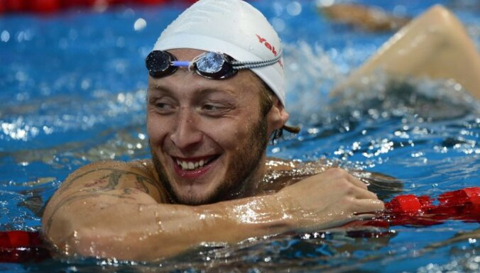 France s swimmer Amaury Leveaux