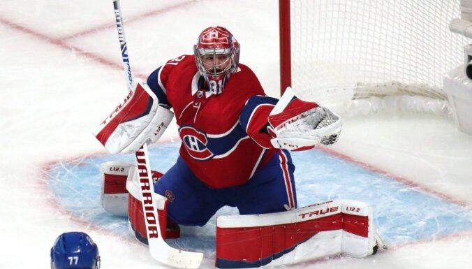 'Canadiens' nonāk uzvaras attālumā no konferences fināla