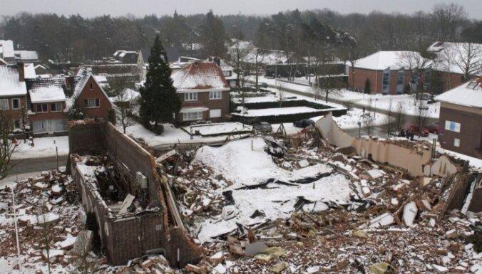 Под тяжестью снега рухнул собор в Бельгии