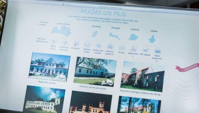 Izveidota Latvijas piļu un muižu apceļošanas akcijas elektroniskā karte