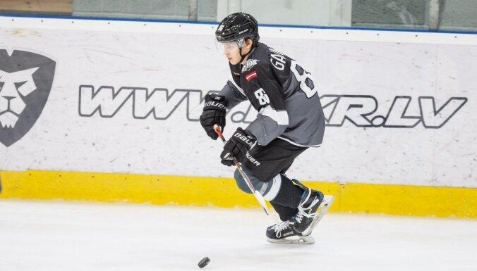 'Rīgas' hokejistiem zaudējums MHL spēlē