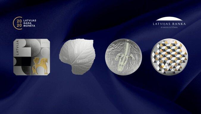Aicina balsot par 2020. gada izcilāko kolekcijas monētu