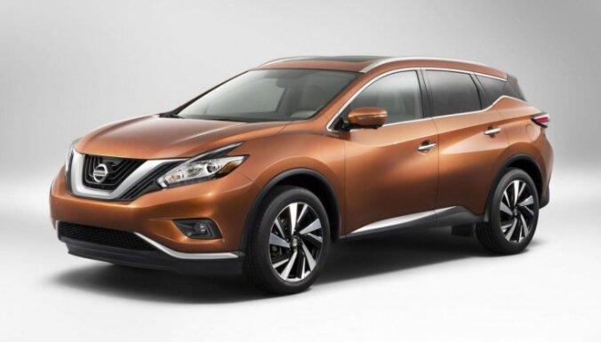 'Nissan' parādījis jauno 'Murano' apvidnieku