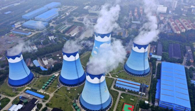 Pieaug pasaulē bagātāko valstu oglekļa emisiju apjomi