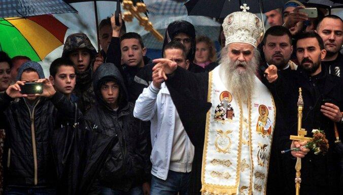 Covid-19: Aizsaulē devies pareizticīgās baznīcas līderis Melnkalnē Radovics