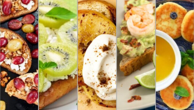 No mafinu omletes līdz šokolādei ar kanēli – praktiski ieteikumi nesteidzīgām ģimenes brokastīm