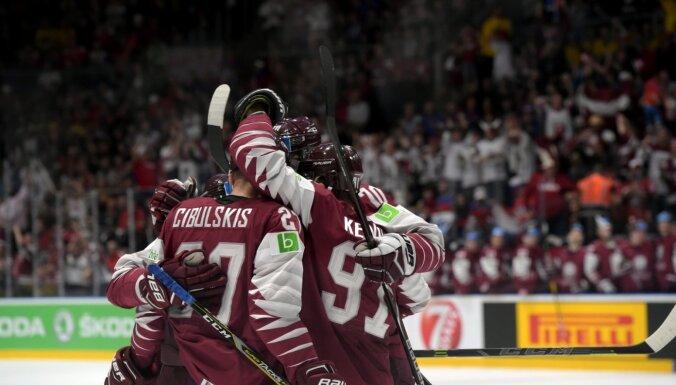 Latvijas hokeja izlase – virtuālā pasaules čempione