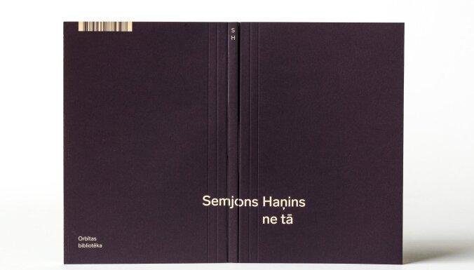 Iznākusi Semjona Haņina dzejas grāmata 'Ne tā'