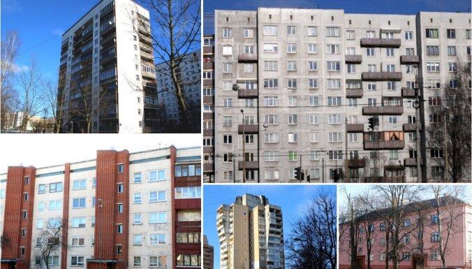 'Hruščovka' vai čehu projekts? Tests – cik labi proti atpazīt padomju laikos celtos namus