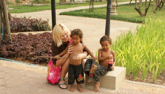 Jūrnieka sieva Inga: pat paralīze un vīra aiziešana mani neapstādināja