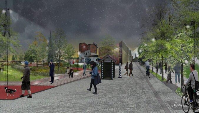 Vizualizācija: kā izskatīsies topošais Valgas – Valkas dvīņu pilsētas centrs