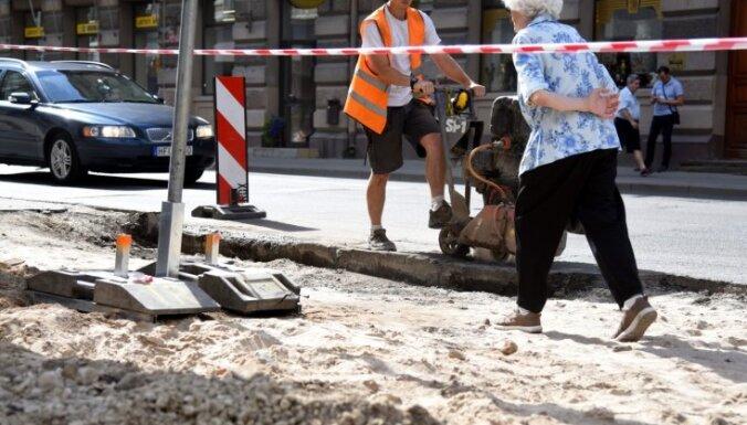 В этом году ремонтные работы на рижских улицах выполнены в срок