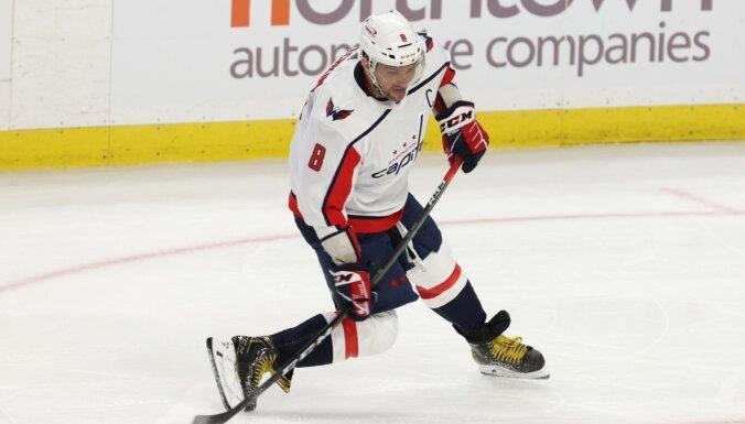 NHL bargi soda 'Capitals' par Covid-19 sanitārā protokola pārkāpumiem
