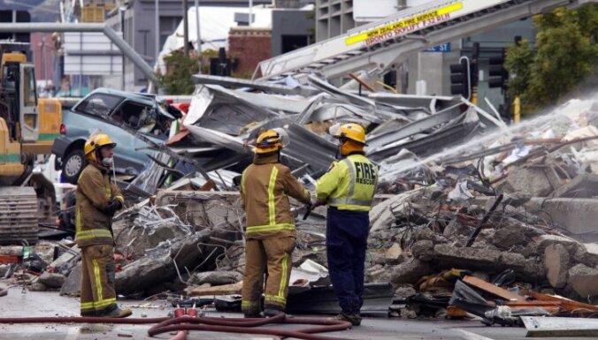 Jaunzēlandes zemestrīcē 98 bojāgājušie