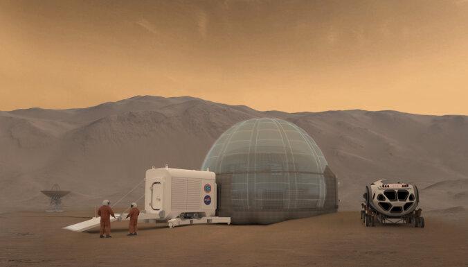 Astronautiem uz Marsa var nākties liet asinis, lai tiktu pie pajumtes