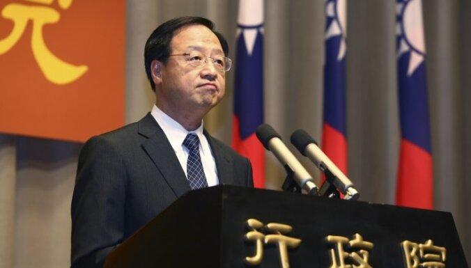 Pēc sakāves pašvaldību vēlēšanās atkāpjas Taivānas premjers