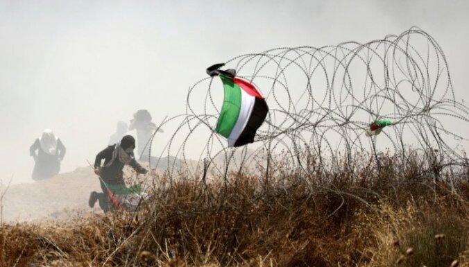 Vardarbību Gazas pierobežā jāizmeklē neatkarīgiem ekspertiem, norāda Eiropas smagsvari