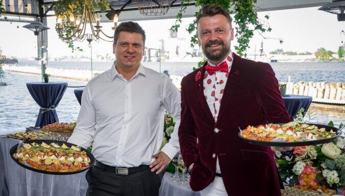 Ресторан Hercogs Ķīpsala открыл террасу с лучшим видом на Старую Ригу.