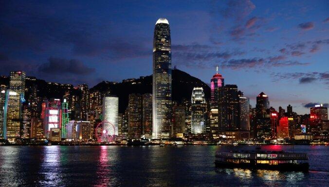 Mediji: Ķīna pieņēmusi Honkongas nacionālās drošības likumu