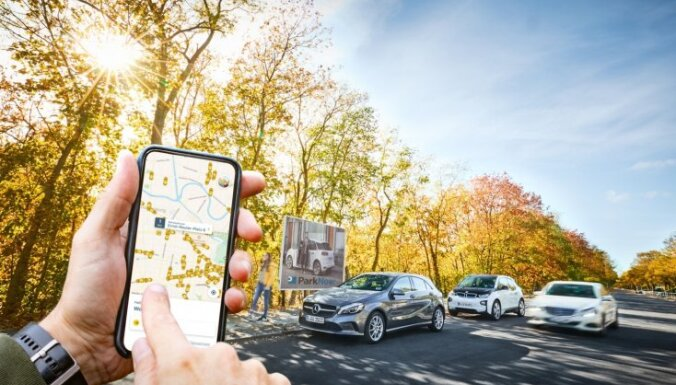 'Daimler' un BMW apvienotajos kopbraukšanas pakalpojumos investēs miljardu eiro