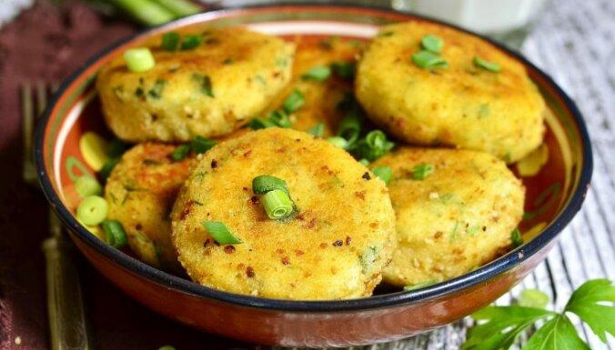 Kartupeļu kotletes jeb plācenīši