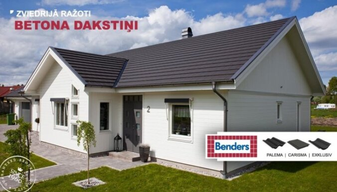 Benders betona dakstiņu jumts – pārbaudīta kvalitāte un vērtība