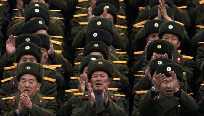 Ziemeļkorejā nomainīts aizsardzības ministrs