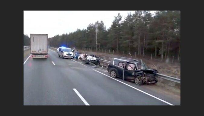 ДТП на шоссе Тинужи — Кокнесе: погиб один человек, движение возобновлено