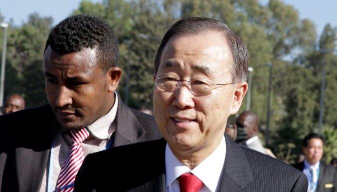 Bans Kimuns: krīze Sudānas un Dienvidsudānas attiecībās ir lielākais drauds drošībai reģionā