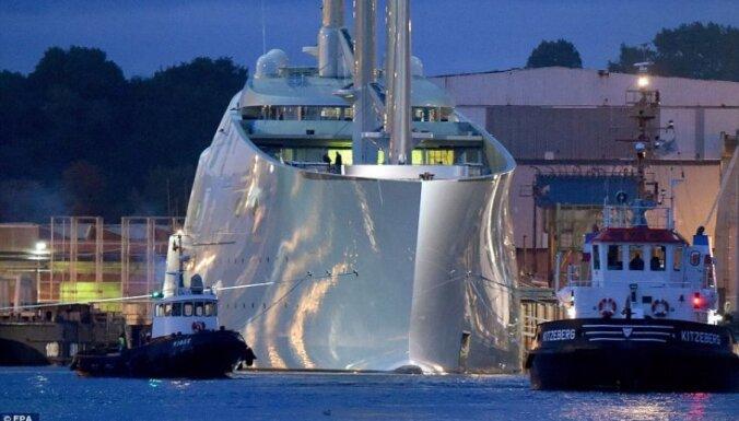 ФОТО: Российский миллиардер построил крупнейшую в мире парусную яхту за 404 млн долларов