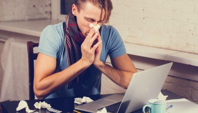 В Латвии официально объявлена эпидемия гриппа