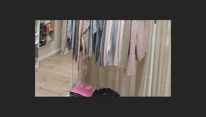 ФОТО. Рига: в магазине торговали контрафактными вещами Calvin Klein